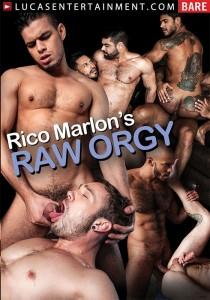 Rico Marlon's Raw Orgy DVD